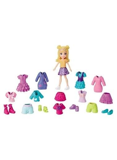 Polly Pocket ve Kıyafetleri Oyun Seti GFT97-GFV02 Renkli